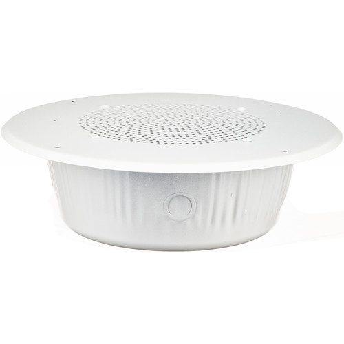 "Louroe Ceiling Flush-Mount 8"" Speaker and Microphone"