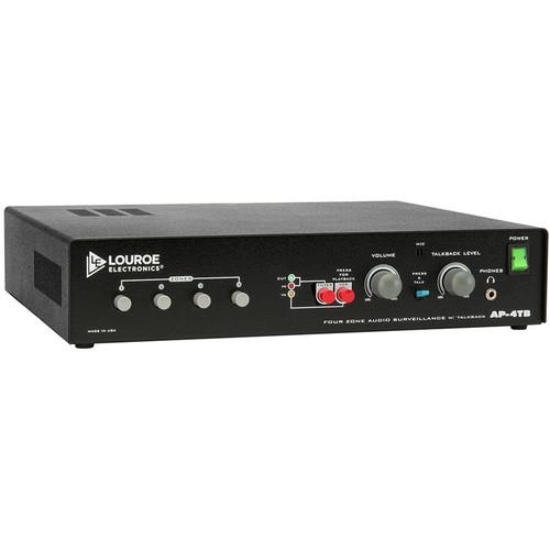 Louroe AP-4TB Audio Monitoring Base Station with Listen & Talkback