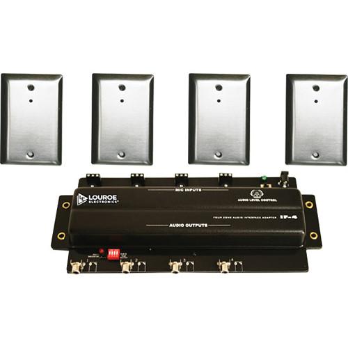 Louroe ASK-4 #304-D Audio Monitoring Kit