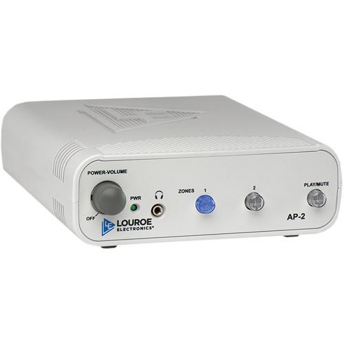 Louroe 2-Zone Manual Audio Monitoring Base Station