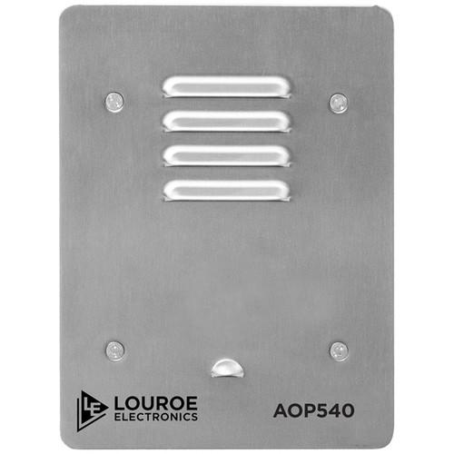 Louroe AOP540 Vandal-Resistant Analog Two-Way Speaker Microphone