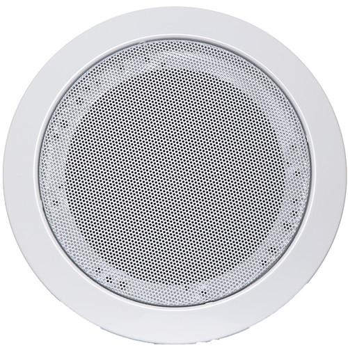 "Louroe VeriFact 650 5.5"" Ceiling Mount Speaker/Microphone"