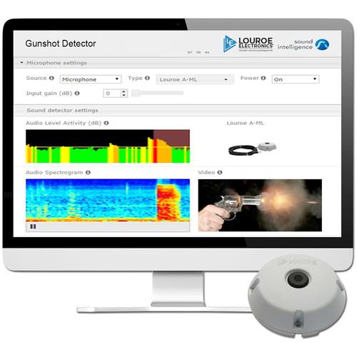 Louroe LE-830 Gunshot Detector Software for Servers