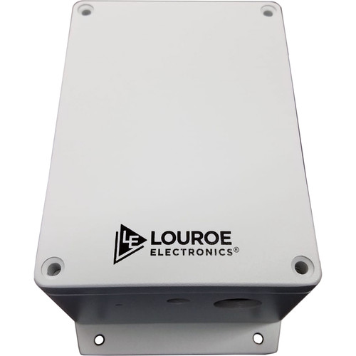 Louroe Outdoor Networked Microphone with Audio Analytics Capabilities