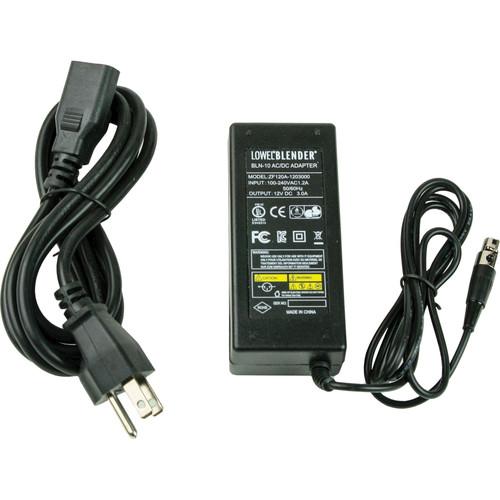 Lowel AC Power Supply for Blender 2 LED Light