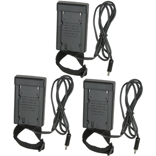 Lowel BSLD-113 Panasonic Battery Sled (3-Pack)