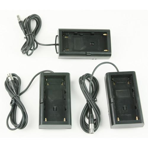 Lowel Blender Battery Sled 3-Pack (Sony BPU and Canon BP970 / 975)