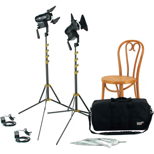 Lowel PRO Power Tungsten LED 2-Light AC Kit with LB-30 Soft Case