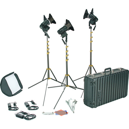 Lowel PRO Power Tungsten LED 3-Light AC Kit