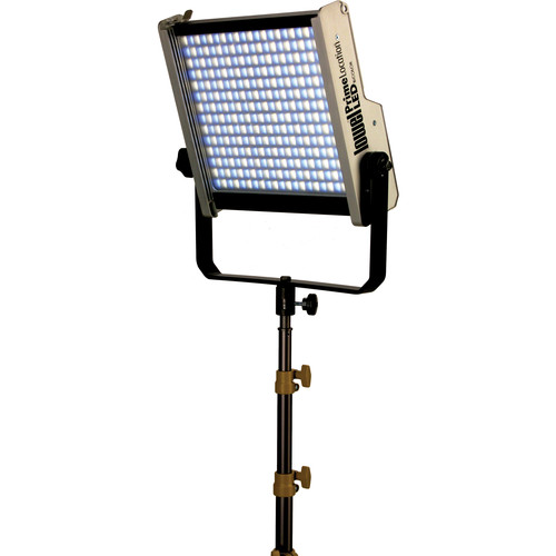 Lowel Prime Location Bi-Color LED Light with Anton Bauer Gold Battery Mount