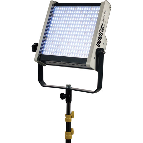 Lowel Prime Location Daylight LED Light with Anton Bauer Gold Battery Mount