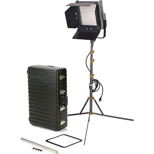 Lowel Prime Location Daylight LED 1-Light Kit with Anton Bauer Gold Battery Mount