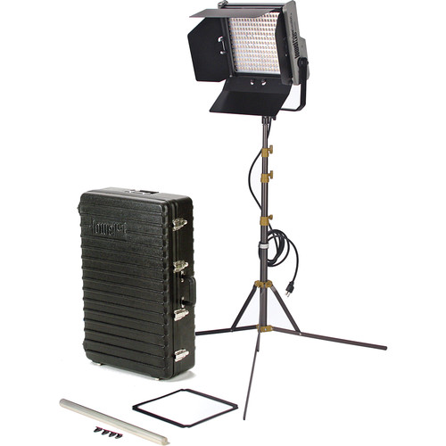 Lowel Prime Location Tungsten LED 1-Light Kit with Anton Bauer Gold Battery Mount