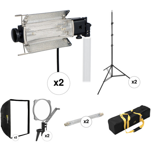 Lowel Tota-light 2 Light Softbox Kit