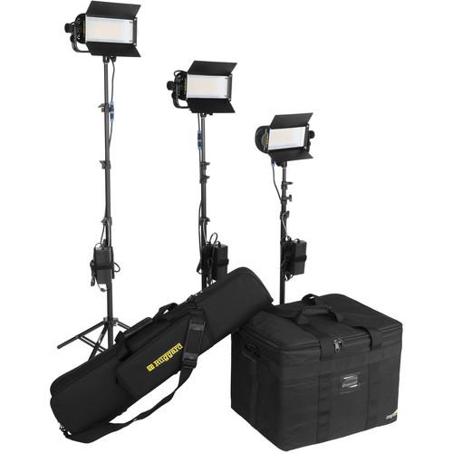 Lowel TotaLED Daylight LED 3-Light Kit