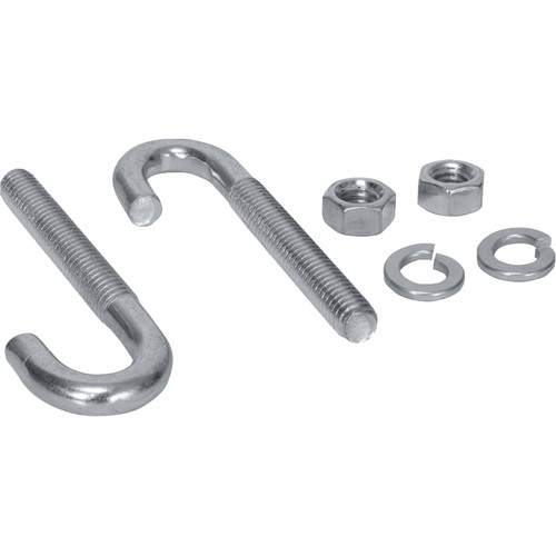 """Lowell Manufacturing J-Bolt Kit for Cable Ladder, 5/16 x 3""""  (1-Pair)"""