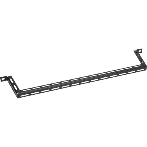"""Lowell Manufacturing Cable Management Bar-Slotted, 4"""" Offset, 10-Pak"""