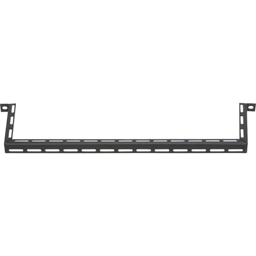 """Lowell Manufacturing Cable Management Bar-Slotted, 6"""" Offset, 10-Pak"""