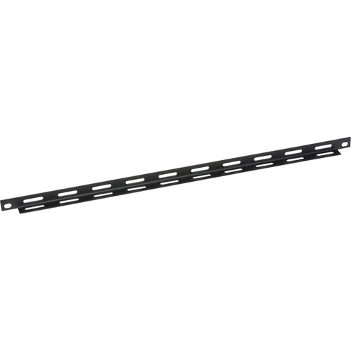 Lowell Manufacturing Cable Management Bar-Slotted, Straight, 10-Pak