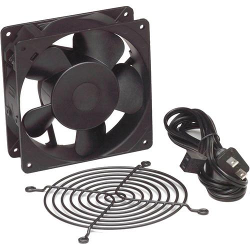 """Lowell Manufacturing Fan Kit-Single 4.7"""" Whisper Fan: 50CFM,Fan Guard,Cord (US)"""