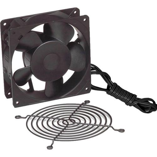"""Lowell Manufacturing Fan Kit-Single 4.7"""" Whisper Fan: 50CFM,Fan Guard,Cord (Europe)"""