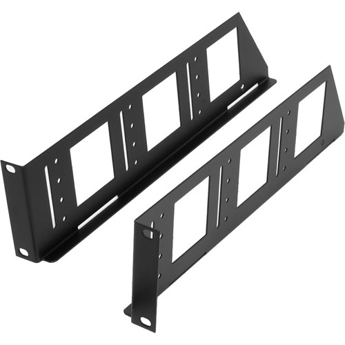 "Lowell Manufacturing Knockdown Shelf Ears (4U 18""D)"
