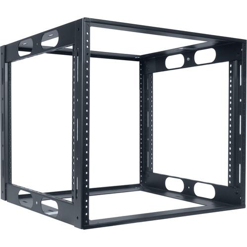 "Lowell Manufacturing Rack-Credenza-10U, 18"" Deep, Fully Welded (Black)"