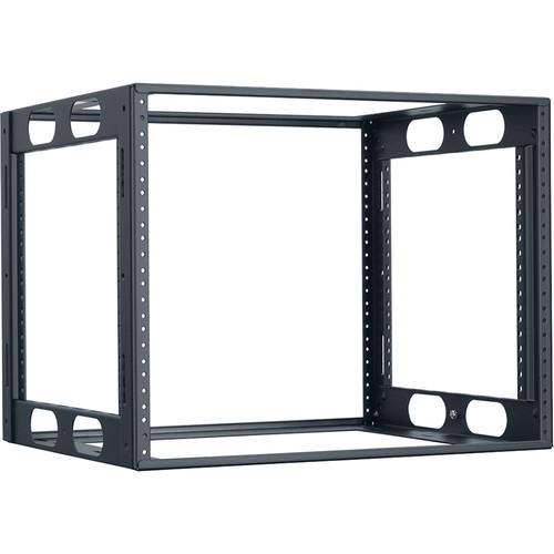 "Lowell Manufacturing Rack-Credenza-8U, 16"" Deep, Fully Welded (Black)"