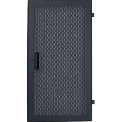 Lowell Manufacturing Door-Fully Vented Front-14U, Rear-Style-Lock