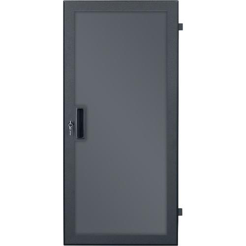 Lowell Manufacturing Door-Plexiglass Front-21U,  Rear-Style-Lock