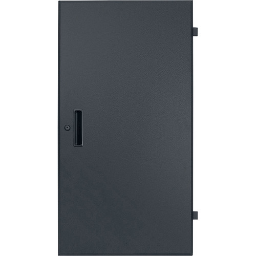 Lowell Manufacturing Door-Solid Front-21U, Rear-Style-Lock