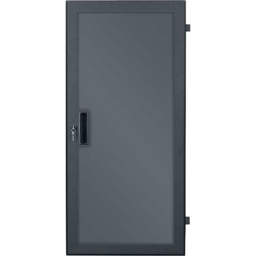 Lowell Manufacturing Door-Plexiglass Front-24U,  Rear-Style-Lock