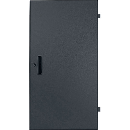 Lowell Manufacturing Door-Solid Front-7U, Rear-Style-Lock