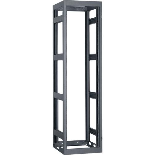 "Lowell Manufacturing Rack-Narrow-Gangable-44U, 32""Deep, Rails (Black)"