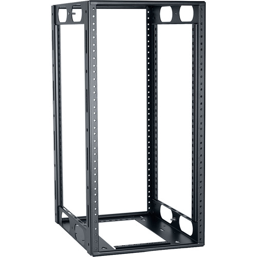 "Lowell Manufacturing Half-Rack, 12U, 14"" Deep (Black)"