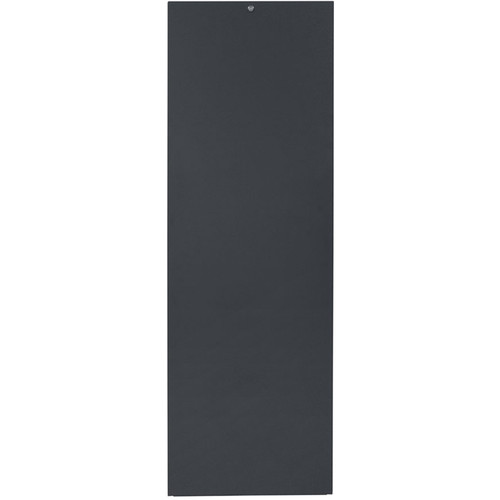 Lowell Manufacturing Rack-Rear Access Cover-35U, fits LHR Series, Locking/Solid (Black)