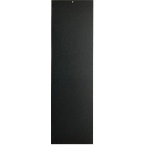 Lowell Manufacturing Rack-Rear Access Cover-44U, fits LHR Series, Locking/Solid (Black)