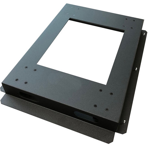 "Lowell Manufacturing Rack Base-Mobile-32"" Deep, 3"" Fine-Floor Swivel Casters (Black)"