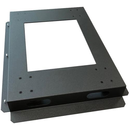 "Lowell Manufacturing Rack Base-Mobile-36"" Deep, 3"" Fine-Floor Swivel Casters (Black)"