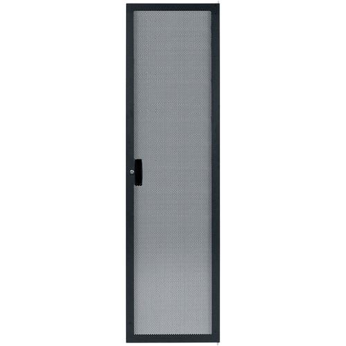Lowell Manufacturing Rack Rear Door-Narrow, Fully-Vented, 40U