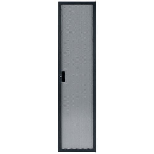 Lowell Manufacturing Rack Rear Door-Narrow, Fully-Vented, 44U