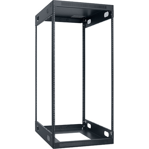 "Lowell Manufacturing Slim Knockdown Rack, 22U, 26""Deep"