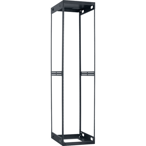 "Lowell Manufacturing Slim Knockdown Rack, 44U, 26""Deep"