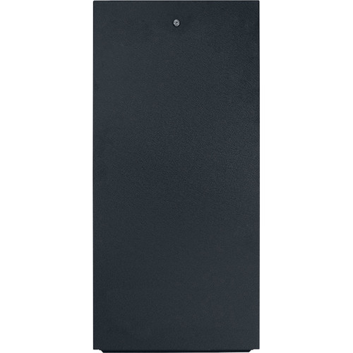 Lowell Manufacturing Rack-Rear Access Cover - 38U, fits LXR/LVR Series, Locking (Black)