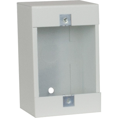 """Lowell Manufacturing Surface-Mount Wall Box Box-Steel - 2.5""""Deep (White)"""