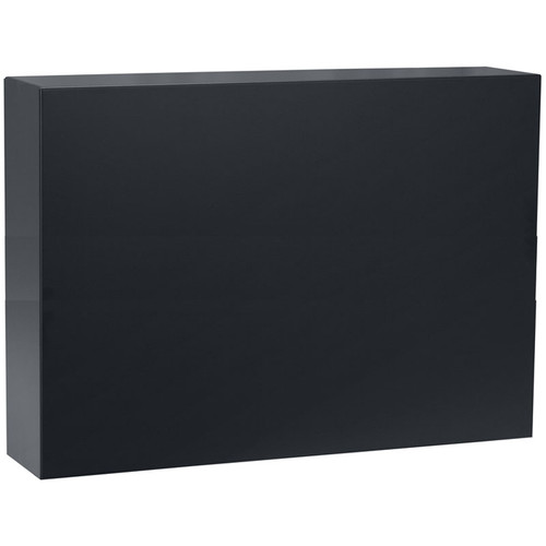 Lowell Manufacturing Pivot Frame Front Panel - 8U (Black)