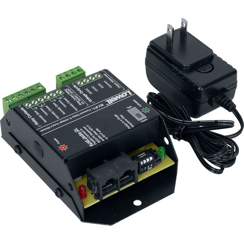 Lowell Manufacturing Pass-Through Power Relay 1-DPDT, 5A 250VAC/30VDC, for SEQ-P4