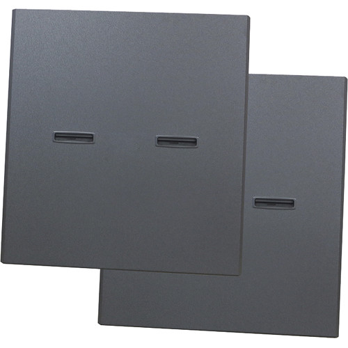 "Lowell Manufacturing Rack Side Panel-40U, 36"" Deep (1-Pair/Split)"
