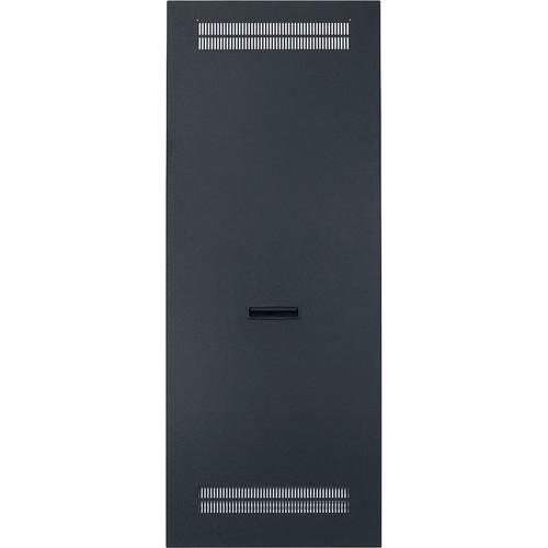 """Lowell Manufacturing Slim Rack Side Panel Vented-22U, 21"""" Deep (1-Pair)"""