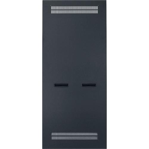 """Lowell Manufacturing Slim Rack Side Panel Vented-8U, 26"""" Deep (1-Pair)"""